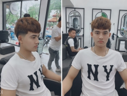 Các kiểu tóc mái ngố nam