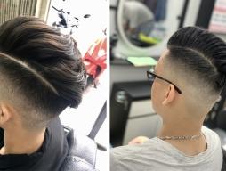 Kiểu tóc nam undercut vuốt ngược đẹp phong trần cá tính